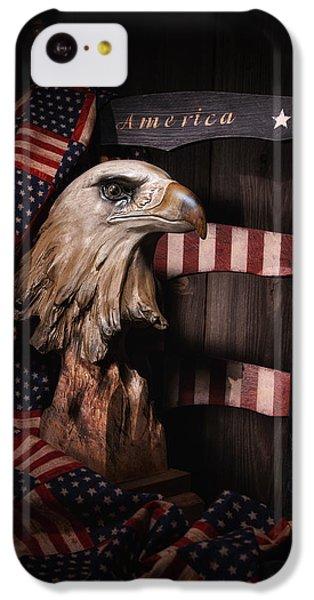 Eagle iPhone 5c Case - Symbol Of America Still Life by Tom Mc Nemar
