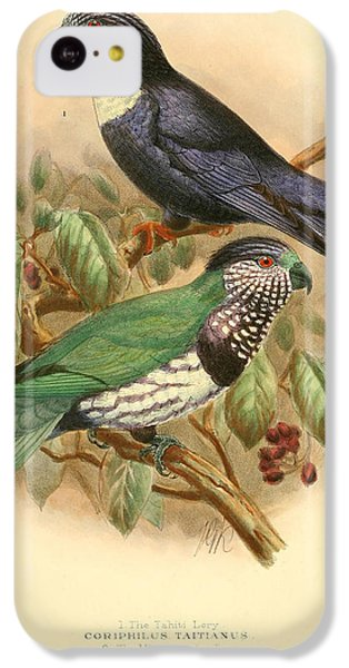 Parakeet iPhone 5c Case - Tahiti Lory by Dreyer Wildlife Print Collections