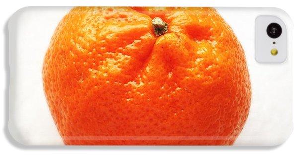 Bright iPhone 5c Case - Tangerine by Matthias Hauser