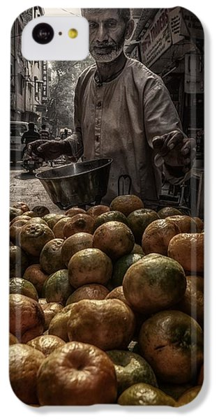 Fruit Bowl iPhone 5c Case - Tangerines From Paharganj by Pavol Stranak