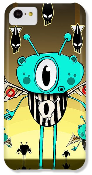Team Alien IPhone 5c Case