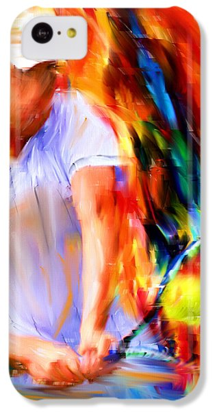 Tennis II IPhone 5c Case by Lourry Legarde
