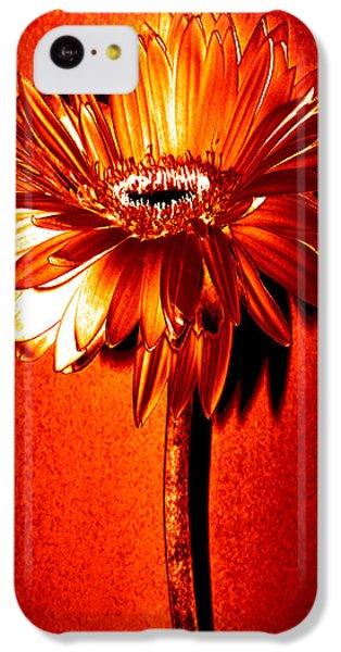 Tequila Sunrise Zinnia IPhone 5c Case by Sherry Allen