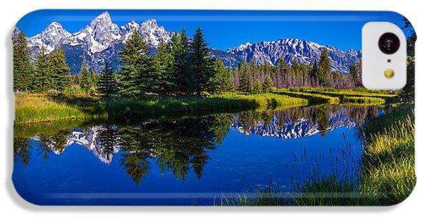 Beautiful Sunrise iPhone 5c Case - Teton Reflection by Chad Dutson