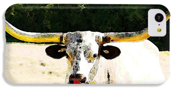 Texas Longhorn - Bull Cow IPhone 5c Case