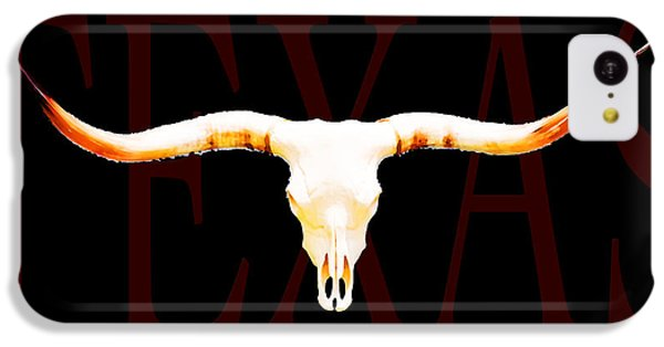 Texas Longhorns By Sharon Cummings IPhone 5c Case by Sharon Cummings