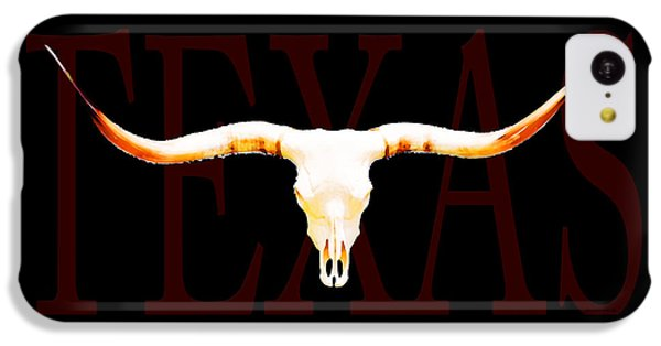 Texas Longhorns By Sharon Cummings IPhone 5c Case