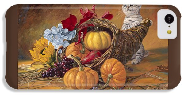 Thankful IPhone 5c Case by Lucie Bilodeau