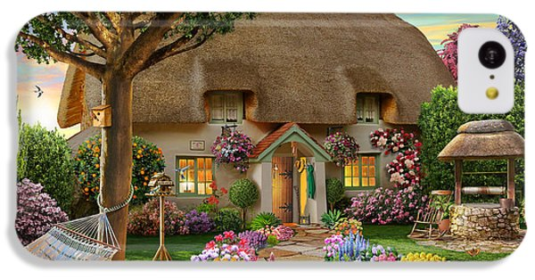 Thatched Cottage IPhone 5c Case by Adrian Chesterman