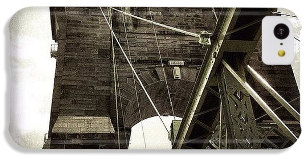 Ohio iPhone 5c Case - The 1st brooklyn Bridge by Natasha Marco
