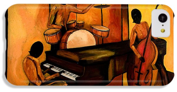 Drum iPhone 5c Case - The 1st Jazz Trio by Larry Martin