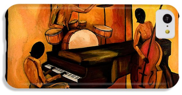 The 1st Jazz Trio IPhone 5c Case by Larry Martin