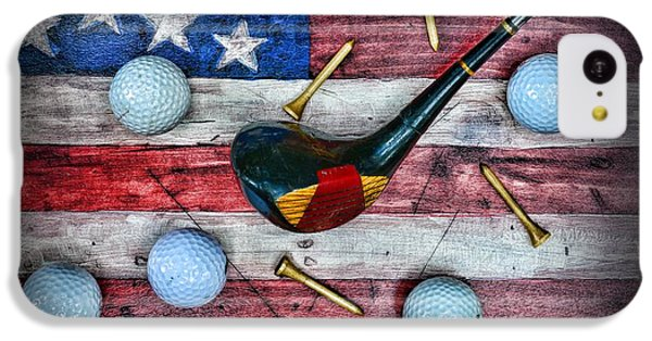 Condor iPhone 5c Case - The All American Golfer by Paul Ward