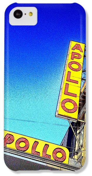 Apollo Theater iPhone 5c Case - The Apollo by Gilda Parente