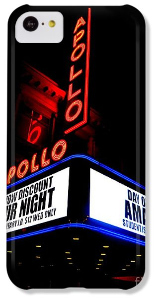 Apollo Theater iPhone 5c Case - The Apollo Theater by Ed Weidman
