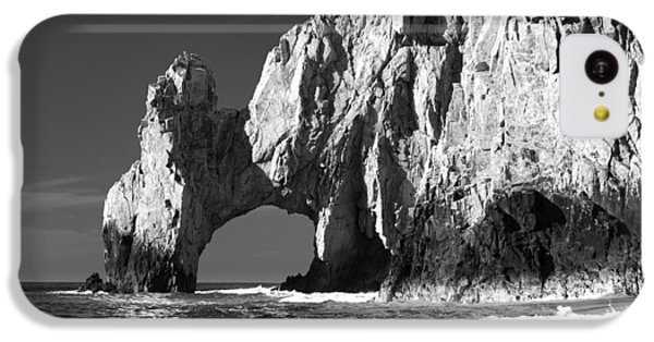 The Arch Cabo San Lucas In Black And White IPhone 5c Case