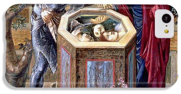 The Baleful Head, C.1876 IPhone 5c Case by Sir Edward Coley Burne-Jones