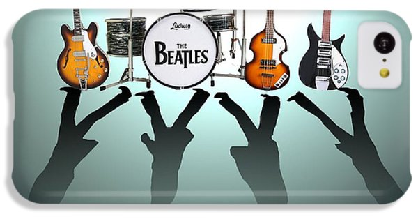 The iPhone 5c Case - The Beatles by Yelena Day
