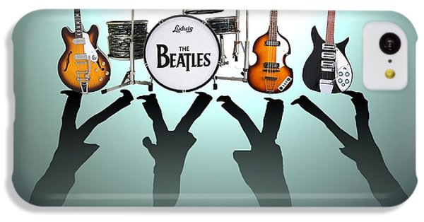 Drum iPhone 5c Case - The Beatles by Lena Day