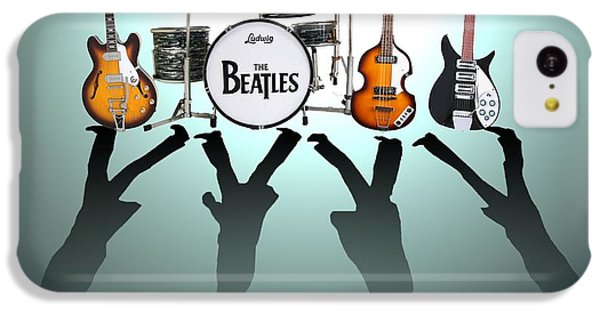 The Beatles IPhone 5c Case by Lena Day