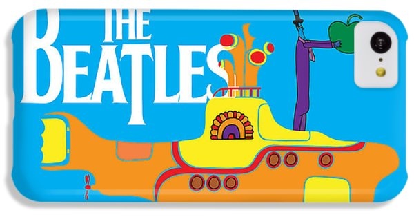 Music iPhone 5c Case - The Beatles No.11 by Geek N Rock
