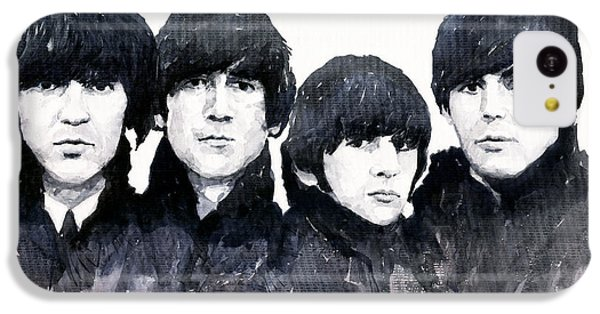 Musicians iPhone 5c Case - The Beatles by Yuriy Shevchuk
