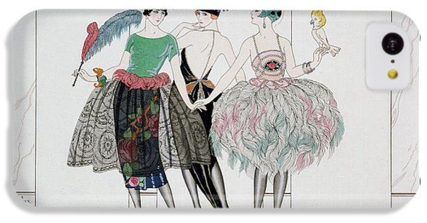 Parakeet iPhone 5c Case - The Beautiful Savages by Georges Barbier
