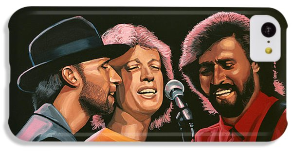 Rhythm And Blues iPhone 5c Case - The Bee Gees by Paul Meijering