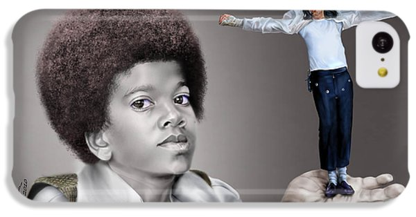 The Best Of Me - Handle With Care - Michael Jacksons IPhone 5c Case by Reggie Duffie