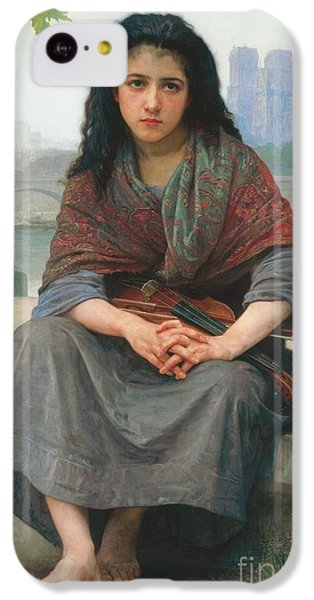 Violin iPhone 5c Case - The Bohemian by William Adolphe Bouguereau