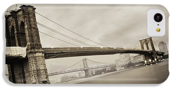 The Brooklyn Bridge IPhone 5c Case by Eli Katz