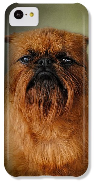 The Brussels Griffon IPhone 5c Case by Jai Johnson