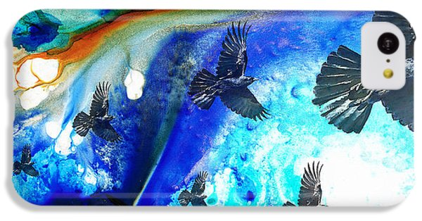 The Calling - Raven Crow Art By Sharon Cummings IPhone 5c Case by Sharon Cummings