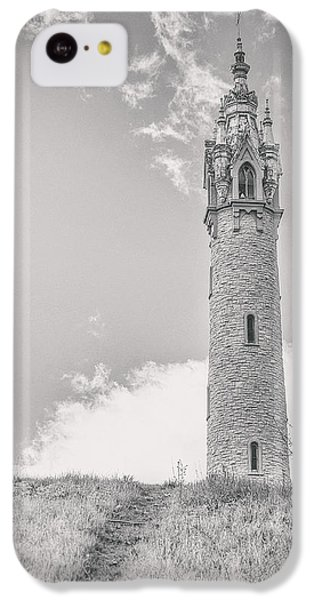Fairy iPhone 5c Case - The Castle Tower by Scott Norris
