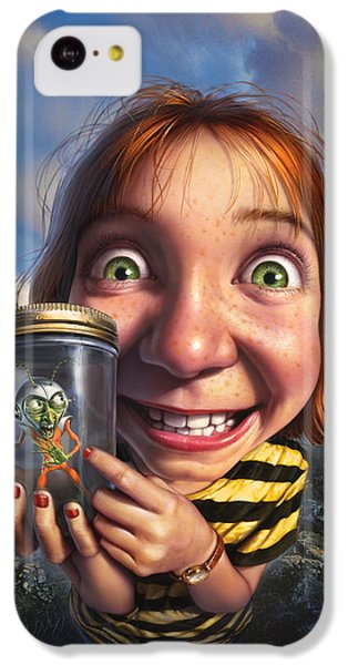 Aliens iPhone 5c Case - The Collector by Mark Fredrickson
