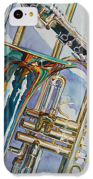 The Color Of Music IPhone 5c Case by Jenny Armitage
