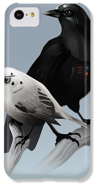 The Dark Side Of The Flock IPhone 5c Case