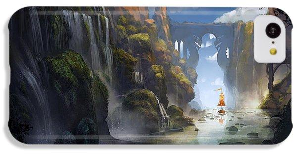 Dragon iPhone 5c Case - The Dragon Land by Kristina Vardazaryan