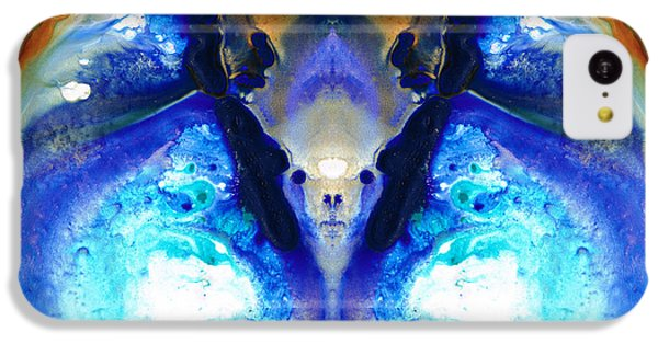 The Dragon - Visionary Art By Sharon Cummings IPhone 5c Case by Sharon Cummings