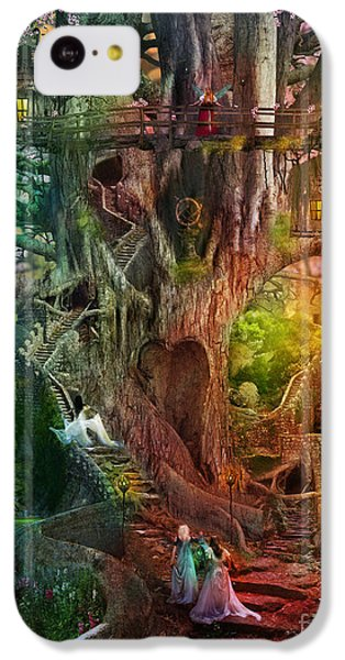 The Dreaming Tree IPhone 5c Case by Aimee Stewart