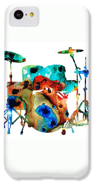 The Drums - Music Art By Sharon Cummings IPhone 5c Case