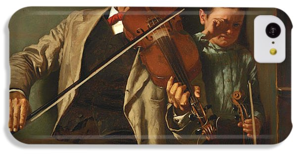 Violin iPhone 5c Case - The Duet by Mountain Dreams
