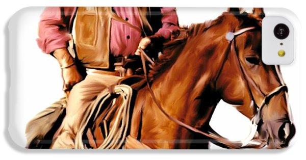 Duke iPhone 5c Case - The Duke  John Wayne by Iconic Images Art Gallery David Pucciarelli