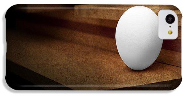 Chicken iPhone 5c Case - The Egg by Tom Mc Nemar