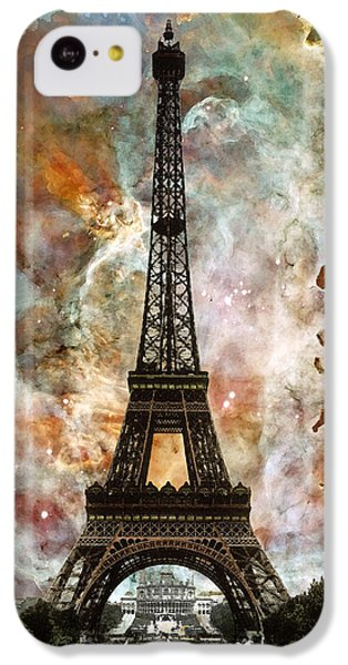 The Eiffel Tower - Paris France Art By Sharon Cummings IPhone 5c Case