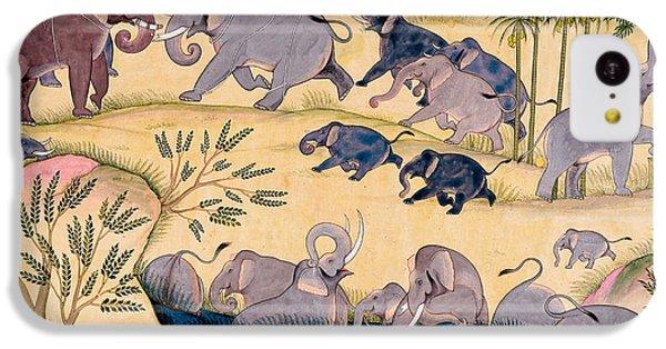 The Elephant Hunt IPhone 5c Case