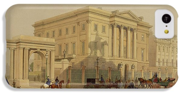 The Exterior Of Apsley House, 1853 IPhone 5c Case by English School