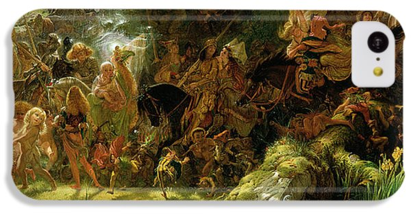 The Fairy Raid IPhone 5c Case by Sir Joseph Noel Paton