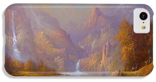 The Fellowship Doors Of Durin Moria.  IPhone 5c Case by Joe  Gilronan