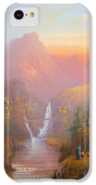 The Fellowship Of The Ring IPhone 5c Case by Joe  Gilronan